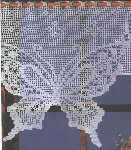 rideaux mon univers le crochet. Black Bedroom Furniture Sets. Home Design Ideas
